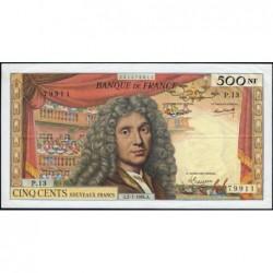 F 60-06 - 02/01/1964 - 500 nouv. francs - Molière - Série P.13 - Etat : TTB+