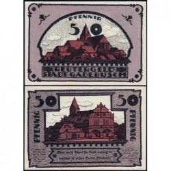 Allemagne - Notgeld - Gadebusch - 50 pfennig - 1921 - Etat : SPL