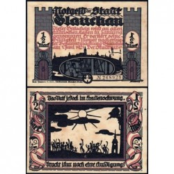 Allemagne - Notgeld - Glauchau - 1/2 mark - Type 6 - 01/06/1921 - Etat : SPL