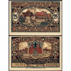 Allemagne - Notgeld - Raguhn - 25 pfennig - Lettre G - 08/1921 - Etat : NEUF