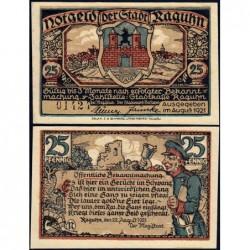 Allemagne - Notgeld - Raguhn - 25 pfennig - Lettre N - 08/1921 - Etat : NEUF