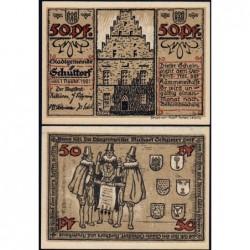 Allemagne - Notgeld - Schüttorf - 50 pfennig - 01/11/1921 - Etat : NEUF