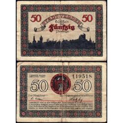 Allemagne - Notgeld - Verden an der Aller - 50 pfennig - 01/06/1920 - Etat : TB-