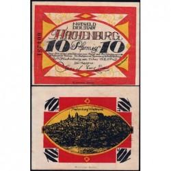 Allemagne - Notgeld - Hachenburg - 10 pfennig - 01/06/1921 - Type a - Etat : pr.NEUF