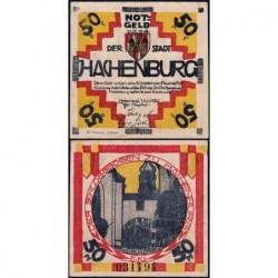 Allemagne - Notgeld - Hachenburg - 50 pfennig - 01/06/1921 - Type b - Etat : SUP