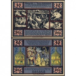 Allemagne - Notgeld - Hessisch-Oldendorf - 50 pfennig - 01/10/1921 - Etat : NEUF