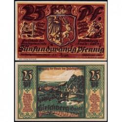 Allemagne - Notgeld - Hirschberg - 25 pfennig - 28/02/1921 - Etat : NEUF