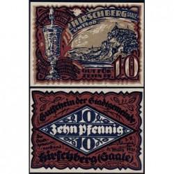 Allemagne - Notgeld - Hirschberg - 10 pfennig - 31/03/1921 - Etat : NEUF