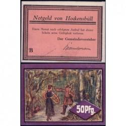 Allemagne - Notgeld - Hockensbüll - 50 pfennig - Série B - 1921 - Etat : pr.NEUF