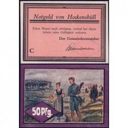 Allemagne - Notgeld - Hockensbüll - 50 pfennig - Série C - 1921 - Etat : pr.NEUF