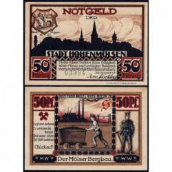 Allemagne - Notgeld - Hohenmölsen - 50 pfennig - 1921 - Etat : NEUF