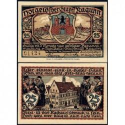 Allemagne - Notgeld - Raguhn - 25 pfennig - Lettre R - 08/1921 - Etat : NEUF