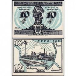 Allemagne - Notgeld - Herne - 10 pfennig - 01/07/1921 - Etat : NEUF