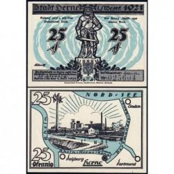 Allemagne - Notgeld - Herne - 25 pfennig - 01/07/1921 - Etat : NEUF