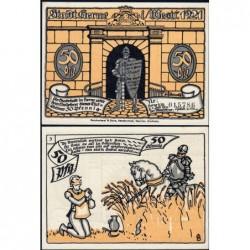 Allemagne - Notgeld - Herne - 50 pfennig - Type 3 - 01/07/1921 - Etat : NEUF
