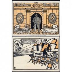 Allemagne - Notgeld - Herne - 50 pfennig - Type 6 - 01/07/1921 - Etat : NEUF