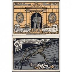 Allemagne - Notgeld - Herne - 50 pfennig - Type 10 - 01/07/1921 - Etat : NEUF