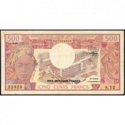 Cameroun - Pick 15d_1 - 500 francs - Série A.12 - 01/06/1981 - Etat : TB+