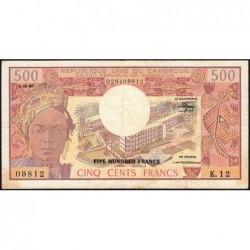 Cameroun - Pick 15d_1 - 500 francs - Série K.12 - 01/06/1981 - Etat : TB+