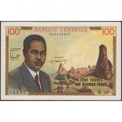 Cameroun - Pick 10 - Série R.20 - 100 francs - 1962 - Etat : SUP
