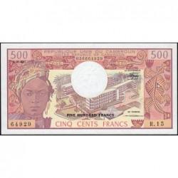 Cameroun - Pick 15d_2 - 500 francs - Série R.15 - 01/01/1983 - Etat : NEUF