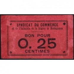 Algérie - Mostaganem 3 - 0,25 franc - 1916 - Etat : TTB