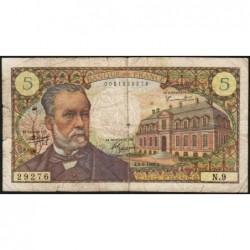 F 61-01 - 05/05/1966 - 5 francs - Pasteur - Série N.9 - Etat : B+