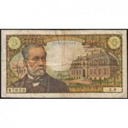 F 61-01 - 05/05/1966 - 5 francs - Pasteur - Série X.9 - Etat : TB-