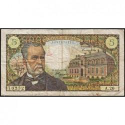 F 61-02 - 07/07/1966 - 5 francs - Pasteur - Série A.20 - Etat : TB+