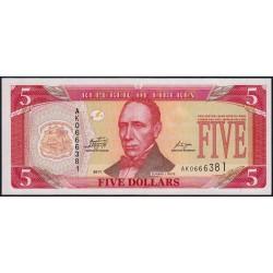 Libéria - Pick 26g - 5 dollars - Série AK - 2011 - Etat : NEUF