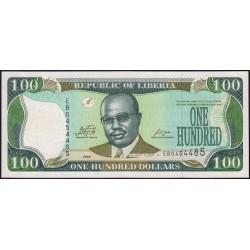 Libéria - Pick 30e - 100 dollars - Série EB - 2009 - Etat : NEUF