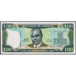 Libéria - Pick 30g - 100 dollars - Série ED - 2011 - Etat : NEUF