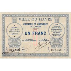 Le Havre - Pirot 68-04 - 1 franc - Sans date - Etat : SUP