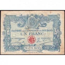 Bourges - Pirot 32-11 - Série A - 1 franc - 1917 - Etat : TB