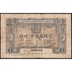 Calais - Pirot 36-43 - 1 franc - 8e émission (1920) - Etat : B+