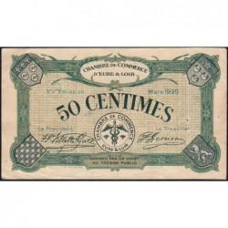 Chartres (Eure-et-Loir) - Pirot 45-9 - 50 centimes - 03/1920 - Etat : TTB