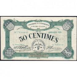 Chartres (Eure-et-Loir) - Pirot 45-11 - 50 centimes - 01/1921 - Etat : SUP