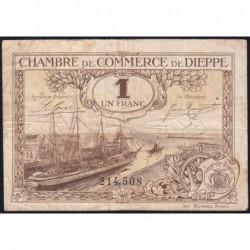 Dieppe - Pirot 52-24 - 1 franc - 1920 - Etat : TB-