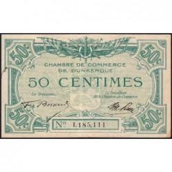 Dunkerque - Pirot 54-1 - 50 centimes - Sans date - Etat : TTB+