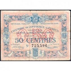 Evreux (Eure) - Pirot 57-16 - 50 centimes - 07/06/1920 - Etat : TB-