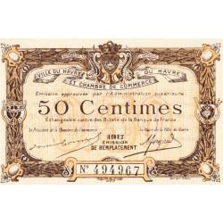 Le Havre - Pirot 68-17b - 50 centimes - 1917 - Etat : pr.NEUF