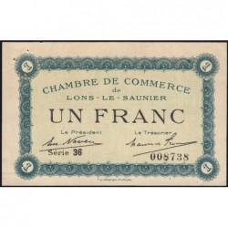 Lons-le-Saunier - Pirot 74-18b - 1 franc - Série 36 - Sans date - Etat : SUP+