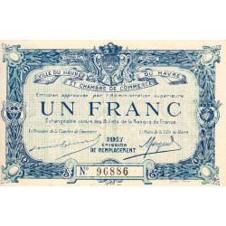 Le Havre - Pirot 68-18b - 1 franc - 1917 - Etat : NEUF