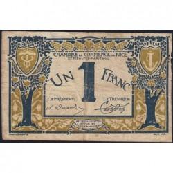 Nice - Pirot 91-05a - 1 franc - Série 3 - 25/04/1917 - Etat : B+