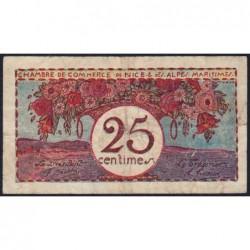 Nice - Pirot 91-19 - 25 centimes - Série 29 - Sans date - Etat : TB+