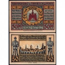 Pologne - Notgeld - Kreuzburg (Kluczbork) - 50 pfennig - 18/10/1921 - Etat : NEUF