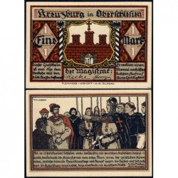Pologne - Notgeld - Kreuzburg (Kluczbork) - 1 mark - 1921 - Etat : NEUF