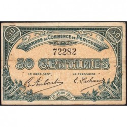 Périgueux - Pirot 98-9 - 50 centimes - 10/06/1915 - Etat : TB+