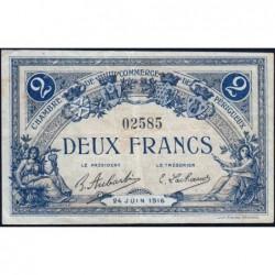 Périgueux - Pirot 98-20 - 2 francs - 24/06/1916 - Etat : TB+