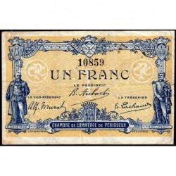 Périgueux - Pirot 98-23 - 1 franc - 05/11/1917 - Etat : TB+